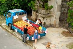 Поставщик плодоовощ Шанхая Китая Стоковое Фото