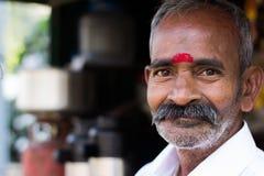 Поставщик чая в Индии Стоковые Фото