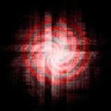 поставьте точки красный цвет Стоковое Фото