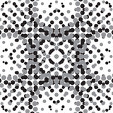 поставленная точки картина безшовная Иллюстрация вектора