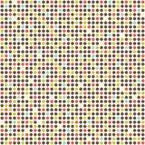 Поставленная точки картина вектора Стоковая Фотография