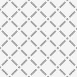Поставленная точки картина отверстия щетки Квадраты с узлами круга Безшовный, иллюстрация штока