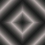 Поставленная точки картина полутонового изображения, квадратная абстрактная текстура Стоковые Изображения RF