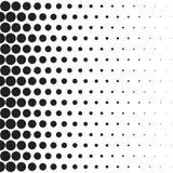 Поставленная точки полутоновым изображением винтажная ретро картина градиентов Monochrome иллюстрация искусства шипучки иллюстрация вектора