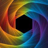 Поставленная точки сетка спектра Стоковая Фотография RF