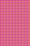Поставленный точки желтый цвет пинка предпосылки Стоковое Изображение RF