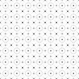 Поставленный точки и звезда Стоковая Фотография