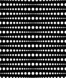 Поставленный точки, картина точек, предпосылка Плавно repeatable оба sid бесплатная иллюстрация