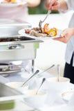 Поставлять еду близко вверх Стоковые Фотографии RF