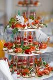 Поставлять еду для wedding Стоковые Фото