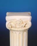 постамент предпосылки голубой греческий Стоковое Изображение