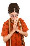 постарейте благословение давая человека нового Стоковое Изображение RF