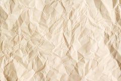 Постаретая бежом бумажная предпосылка листа стоковые изображения