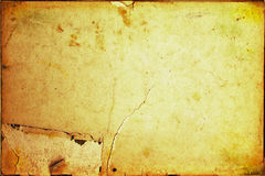 постаретая бумага предпосылки Стоковое Фото