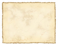 постаретая бумага Стоковые Изображения