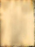 Постаретая бумага. Стоковые Фото