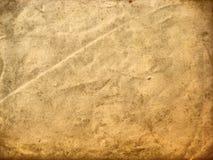 постаретая бумажная текстура Стоковая Фотография