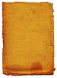 постаретая бумажная текстура Стоковые Изображения RF