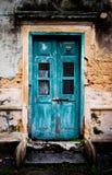Постаретая дверь Стоковые Изображения RF