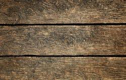 Постаретая деревянная поверхность как предпосылка Стоковые Изображения
