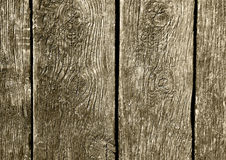 Постаретая деревянная поверхность как предпосылка Стоковая Фотография RF