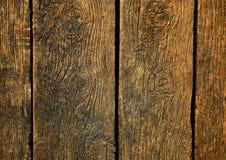 Постаретая деревянная поверхность как предпосылка Стоковые Изображения RF
