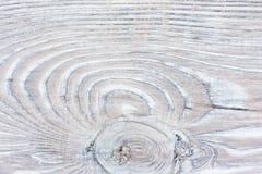 Постаретая естественная покрашенная деревянная текстура Стоковые Изображения