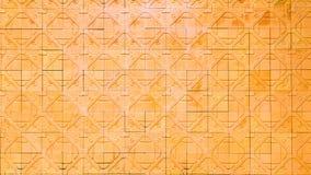 Постаретая землистая предпосылка стены плитки Стоковое Фото