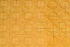 Постаретая землистая предпосылка стены плитки Стоковые Фото