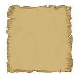 Постаретая иллюстрация бумаги переченя, вектор Стоковая Фотография