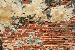 постаретая каменная стена Стоковое Изображение