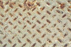 Постаретая картина текстуры металла диаманта используемая как абстрактная предпосылка стоковое фото rf
