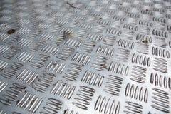 Постаретая картина текстуры металла диаманта используемая как абстрактная предпосылка стоковые фотографии rf