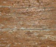 Постаретая коричневая деревянная доска Стоковые Изображения