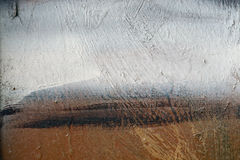 Постаретая краска на предпосылке 14 конспекта поверхности металла grunge пакостной Стоковое Изображение