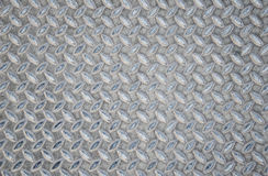 Постаретая предпосылка картины текстуры плиты диаманта безшовной стали металла Стоковая Фотография RF