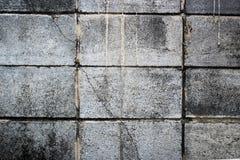 Постаретая предпосылка стены улицы, старая предпосылка текстуры красного кирпича Стоковое фото RF