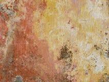Постаретая предпосылка стены улицы, текстура Стоковые Изображения