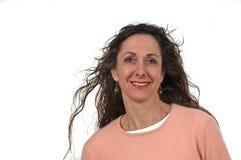 постаретая привлекательная средняя женщина Стоковая Фотография RF
