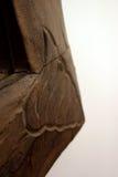постаретая рамка деревянная Стоковое фото RF