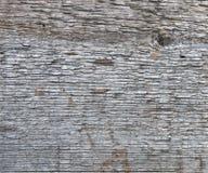 Постаретая серая деревянная текстура доски Стоковая Фотография RF