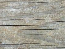 Постаретая серая деревянная текстура Стоковые Фотографии RF