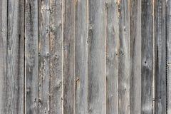 Постаретая серым цветом предпосылка деревянных доск Стоковые Фотографии RF
