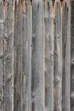 Постаретая серым цветом предпосылка деревянных доск Стоковое Изображение