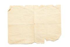 Постаретая сорванная бумага Стоковая Фотография