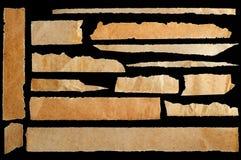 постаретая сорванная бумага Стоковые Изображения RF