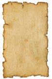 постаретая старая бумага Стоковое Фото
