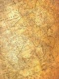 постаретая стародедовская карта стоковые изображения