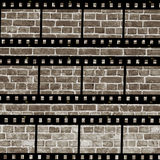 постаретая стена прокладки пленки Стоковое Фото