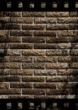 постаретая стена текстуры прокладки пленки цемента Стоковое фото RF